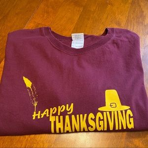 Happy Thanksgiving Graphic Tee 4XL